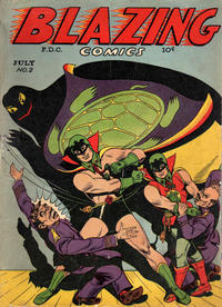 Cover Thumbnail for Blazing Comics (Rural Home, 1944 series) #2