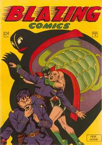 Cover Thumbnail for Blazing Comics (Rural Home, 1944 series) #v2#1 (4)