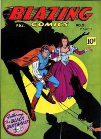 Cover Thumbnail for Blazing Comics (Rural Home, 1944 series) #v2#2 (5)