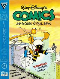 Cover Thumbnail for The Carl Barks Library of Walt Disney's Comics and Stories in Color (Gladstone, 1992 series) #3