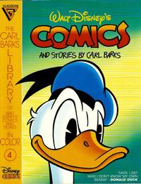 Cover Thumbnail for The Carl Barks Library of Walt Disney's Comics and Stories in Color (Gladstone, 1992 series) #4