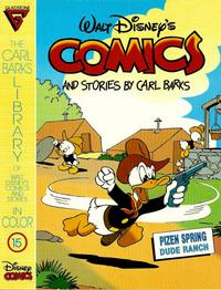 Cover Thumbnail for The Carl Barks Library of Walt Disney's Comics and Stories in Color (Gladstone, 1992 series) #15