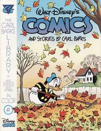 Cover Thumbnail for The Carl Barks Library of Walt Disney's Comics and Stories in Color (Gladstone, 1992 series) #41