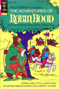 Cover Thumbnail for Walt Disney Productions The Adventures of Robin Hood (Western, 1974 series) #1 [Gold Key Variant]