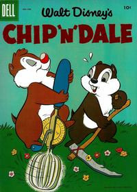 Cover Thumbnail for Walt Disney's Chip 'n' Dale (Dell, 1955 series) #4