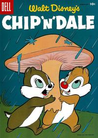 Cover Thumbnail for Walt Disney's Chip 'n' Dale (Dell, 1955 series) #5