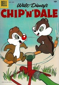 Cover for Chip 'n' Dale (Dell, 1955 series) #7