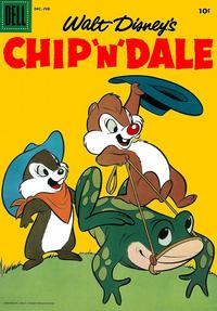 Cover Thumbnail for Walt Disney's Chip 'n' Dale (Dell, 1955 series) #8