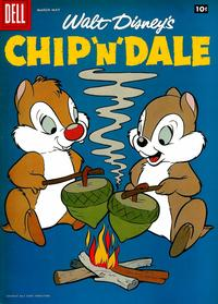 Cover Thumbnail for Walt Disney's Chip 'n' Dale (Dell, 1955 series) #13