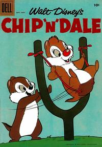 Cover Thumbnail for Chip 'n' Dale (Dell, 1955 series) #15
