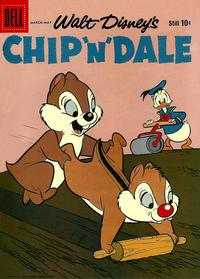 Cover Thumbnail for Chip 'n' Dale (Dell, 1955 series) #17