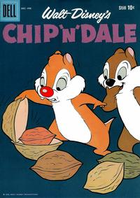 Cover for Chip 'n' Dale (Dell, 1955 series) #20