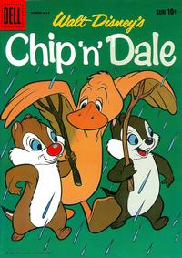 Cover Thumbnail for Chip 'n' Dale (Dell, 1955 series) #21