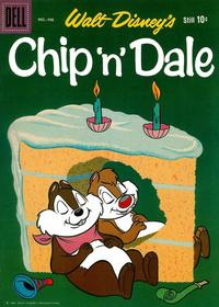 Cover Thumbnail for Chip 'n' Dale (Dell, 1955 series) #24