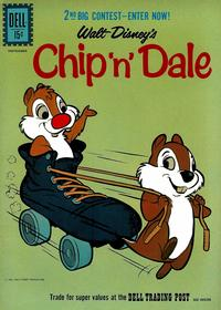 Cover Thumbnail for Walt Disney's Chip 'n' Dale (Dell, 1955 series) #27