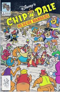 Cover Thumbnail for Chip 'n' Dale Rescue Rangers (Disney, 1990 series) #6