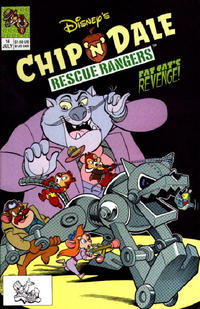 Cover Thumbnail for Chip 'n' Dale Rescue Rangers (Disney, 1990 series) #14