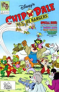 Cover Thumbnail for Chip 'n' Dale Rescue Rangers (Disney, 1990 series) #15