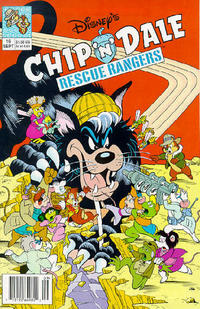 Cover Thumbnail for Chip 'n' Dale Rescue Rangers (Disney, 1990 series) #16 [Newsstand Edition]