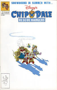 Cover Thumbnail for Chip 'n' Dale Rescue Rangers (Disney, 1990 series) #17