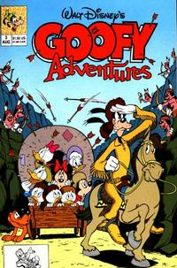 Cover Thumbnail for Goofy Adventures (Disney, 1990 series) #3 [Direct]