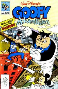 Cover Thumbnail for Goofy Adventures (Disney, 1990 series) #4 [Direct]