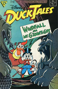 Cover Thumbnail for Disney's DuckTales (Gladstone, 1988 series) #7 [Direct]