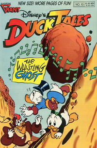 Cover Thumbnail for Disney's DuckTales (Gladstone, 1988 series) #10
