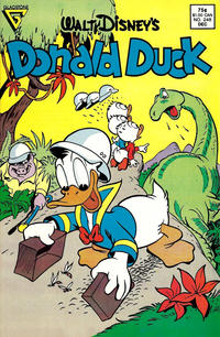 Cover Thumbnail for Donald Duck (Gladstone, 1986 series) #248 [Direct]