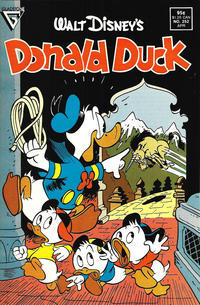 Cover Thumbnail for Donald Duck (Gladstone, 1986 series) #252 [Direct]