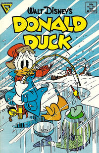 Cover Thumbnail for Donald Duck (Gladstone, 1986 series) #253 [Newsstand]