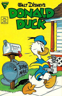 Cover Thumbnail for Donald Duck (Gladstone, 1986 series) #255 [Newsstand]