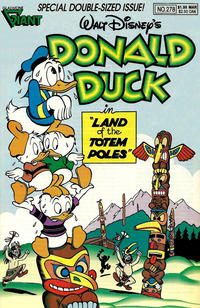 Cover Thumbnail for Donald Duck (Gladstone, 1986 series) #278