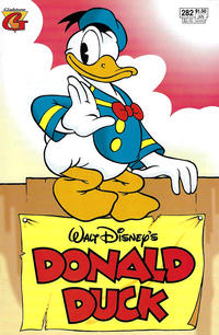 Cover Thumbnail for Donald Duck (Gladstone, 1986 series) #282