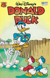 Cover Thumbnail for Donald Duck (Gladstone, 1986 series) #285
