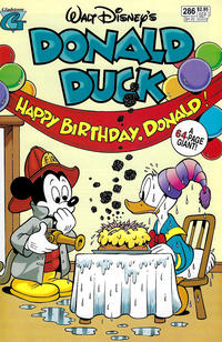 Cover Thumbnail for Donald Duck (Gladstone, 1986 series) #286 [Direct]
