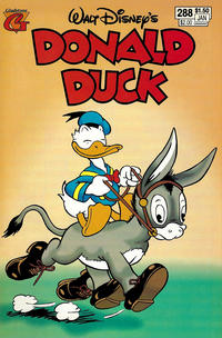 Cover Thumbnail for Donald Duck (Gladstone, 1986 series) #288