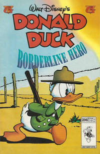 Cover Thumbnail for Donald Duck (Gladstone, 1986 series) #296 [Direct]