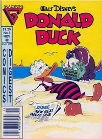 Cover Thumbnail for Donald Duck Comics Digest (Gladstone, 1986 series) #1 [Newsstand edition]