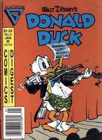 Cover for Donald Duck Comics Digest (Gladstone, 1986 series) #2 [Newsstand]