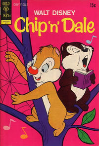 Cover Thumbnail for Walt Disney Chip 'n' Dale (Western, 1967 series) #15 [Gold Key Variant]