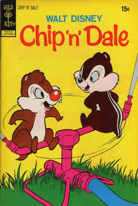 Cover Thumbnail for Walt Disney Chip 'n' Dale (Western, 1967 series) #17 [Gold Key]