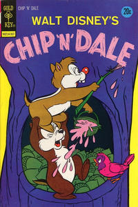 Cover Thumbnail for Walt Disney Chip 'n' Dale (Western, 1967 series) #22 [Gold Key]