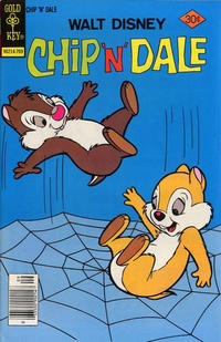 Cover Thumbnail for Walt Disney Chip 'n' Dale (Western, 1967 series) #48 [Gold Key]