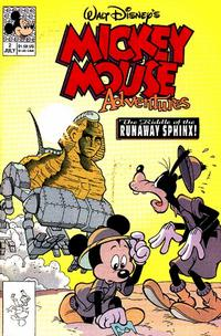 Cover Thumbnail for Walt Disney's Mickey Mouse Adventures (Disney, 1990 series) #2 [Direct]