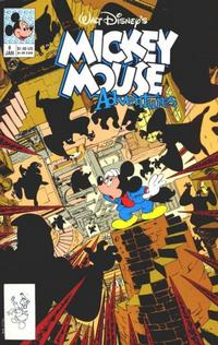 Cover Thumbnail for Walt Disney's Mickey Mouse Adventures (Disney, 1990 series) #8