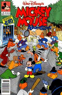 Cover Thumbnail for Walt Disney's Mickey Mouse Adventures (Disney, 1990 series) #18