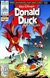 Cover Thumbnail for Walt Disney's Donald Duck Adventures (Disney, 1990 series) #27
