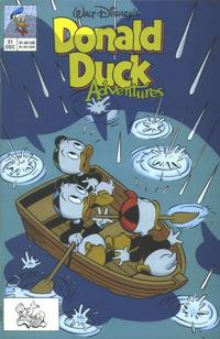 Cover Thumbnail for Walt Disney's Donald Duck Adventures (Disney, 1990 series) #31