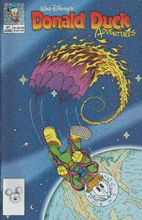 Cover Thumbnail for Walt Disney's Donald Duck Adventures (Disney, 1990 series) #37
